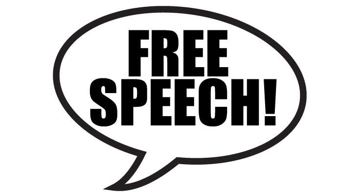 In a democracy, free speech is one of the most important aspects of a fair and just society.